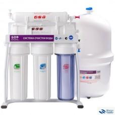 5-и стадийная система очистки водыпроизводительность: 60 GPD мембрана CSM + рама GRANDO 5(RO905-550-EZ-S)
