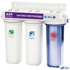 Водоочиститель под мойку 3-стадийный(TRIO) PU905W3-WF14-PR-EZ