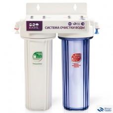 Водоочиститель под мойку 2-стадийный(DUO) PU905W2-WF14-PR-EZ