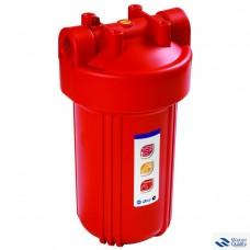 """Комплект для 1 - стадийной системы Биг Блю 10"""" для горячей водыКорпус фильтра 907 со входом 1"""" + металлический кронштейн + мех фильтр + ключ + коробка PS907-BK1-PR"""