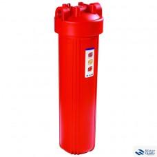 """Комплект для 1 - стадийной системы Биг Блю 20"""" для горячей водыКорпус фильтра 908 со входом 1"""" + металлический кронштейн + мех фильтр + ключ + коробка PS908-BK1-PR"""