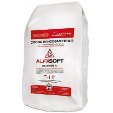 Загрузка смола ионообменная «ALFASOFT (Токем-153)» (25л, 20кг)